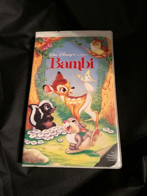 Rare Disney Classic Bambi VHS for Sale in San Diego, CA