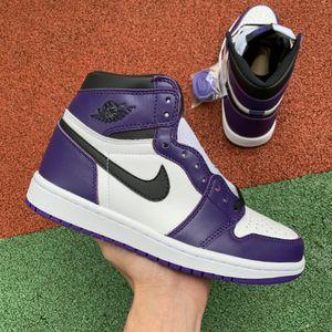 Jordan 1 Retro High Court Purple White for Sale in Washington, DC