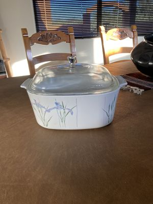 CorningWare Shadow Iris 5 Liter with Lid for Sale in Tucson, AZ