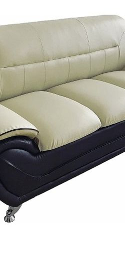 US Pride Furniture S5398-S Sofa , Sofa, Camel/Black for Sale in Grand Prairie,  TX