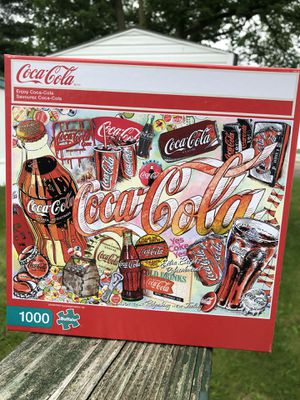 Buffalo Games Vintage Coca-Cola 1000 Piece Puzzle used for Sale in Edinburgh, IN