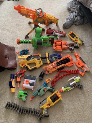 Mega lot nerf guns and accessories for Sale in Manassas, VA