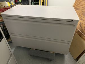 Metal lateral filing cabinet for Sale in Waddell, AZ