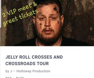 2 VIP tickets to see Jelly Roll for Sale in Ward, AR