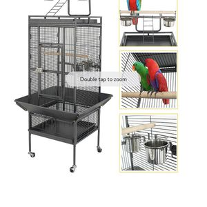 "61"" Large Bird Cage Large Play Top Parrot Finch Cage Pet Supplies Removable Part for Sale in Garden Grove, CA"