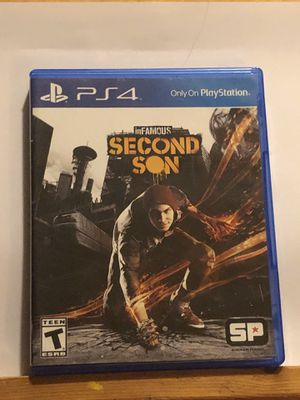 Infamous: Second Son (ps4) for Sale in Wantagh, NY