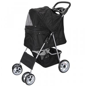 Dog Stroller Travel Folding Carrier Small Medium Cat Pet 4 Wheeler w/ Cup Holder for Sale in Lake Elsinore, CA