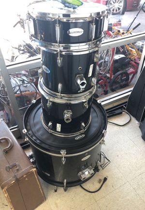 4 piece Drum set As IS - Used for Sale in Laveen Village, AZ