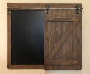 Wooden Sliding Door Chalkboard for Sale in Los Angeles, CA