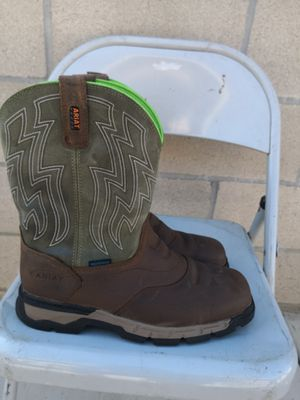 Ariat soft toe work boots size 10.5 EE for Sale in Riverside, CA
