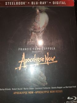 Brand New Factory Sealed APOCALYPSE NOW REDUX STEEL BOOK + BLURAY + DIGITAL CODE for Sale in Ontario,  CA