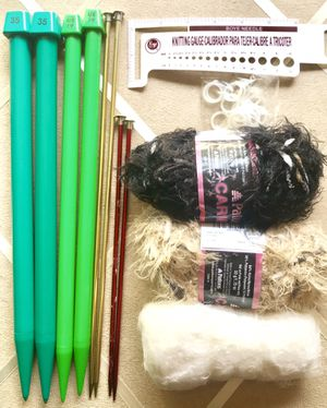 EVERYTHING YOU NEED TO START KNITTING! for Sale in Overland Park, KS