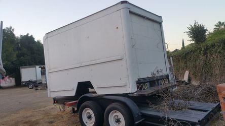 Commercial enclosed box for a long bed truck! for Sale in Santa Ana,  CA