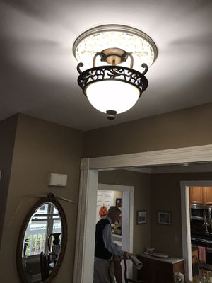 Semi Flush Mount Ceiling Light for Sale in St. Louis, MO