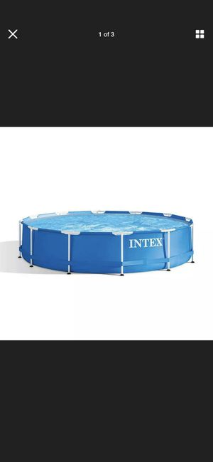 Intex 28210EH 12 Foot x 30 Inch Above Ground Swimming Pool (Pump Not Included) for Sale in Cabin John, MD