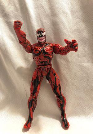 Vintage CARNAGE Spider-Man: Animated Series Action Figure Marvel (Toy Biz, 1994) for Sale in Menifee, CA