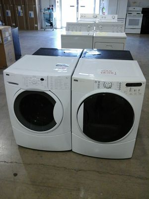 Kenmore Elite washer gas dryer set tested #Affordable82 for Sale in Englewood, CO
