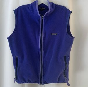 Patagonia Blue fleece vest Sz Lrg for Sale in Camano, WA