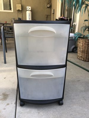 Rolling plastic drawers for Sale in La Verne, CA