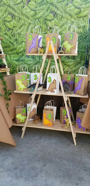 Wood Candy Bag Stand - 4ft tall -folds down for Sale in Norco, CA