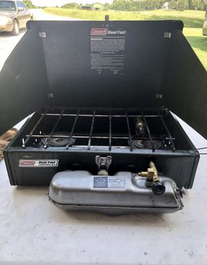 COLEMAN DUAL FUEL STOVE LIKE NEW! for Sale in Glasgow, KY