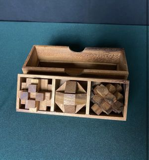 Wooden Puzzle Game for Sale in Sacramento, CA