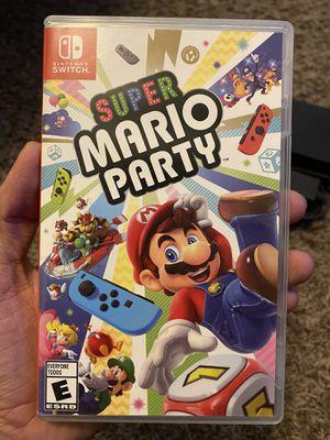 Super Mario Party Switch for Sale in San Antonio, TX