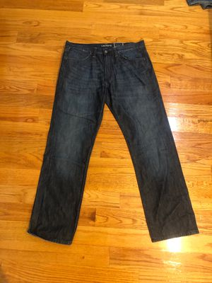 Lacoste Jeans (Brushed Blue) 34x32 for Sale in Hacienda Heights, CA
