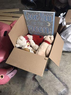 Kids stuffed animals/toys for Sale in Menifee, CA