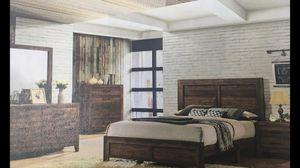 Set full size nueva en su caja / TOCADOR / ESPEJO / / BURO / BED / FRAME / (cama ) for Sale in Visalia, CA
