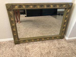 42x30 Large Gold Framed Beveled mirror for Sale in Gilbert, AZ