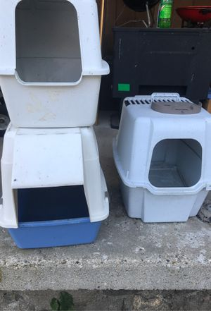 Cat boxes for Sale in Edmore, MI