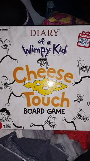 Diary of a wimpy kid cheese touch board game for Sale in San Dimas, CA