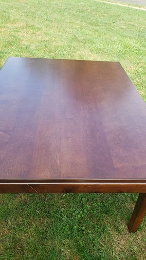 Solid wood kitchen table maple for Sale in Somerset, NJ