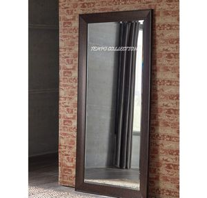 NEW, MIRROR WUTH BROWN FINISHED FRAME, SKU#A8010079 for Sale in Santa Ana, CA