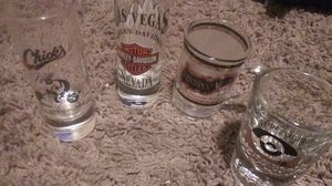 Collectible Over 100 NEW shot glasses from all over for Sale in Las Vegas, NV