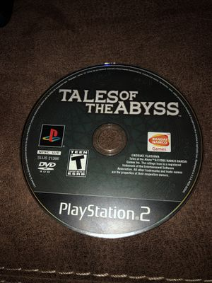 Tales Of The Abyss PS2 Game (Rare) for Sale in Atlanta, GA