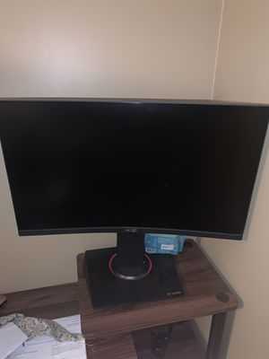 """ASUS 24"""" Curved Monitor for Sale in Madison Heights, MI"""