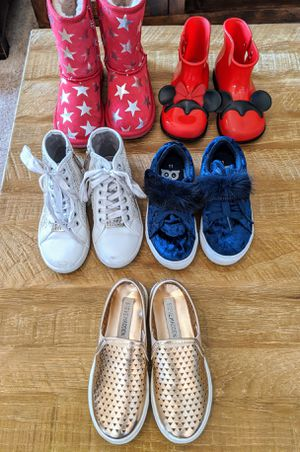 Lot of toddler girls size 11 shoes for Sale in Scottsdale, AZ