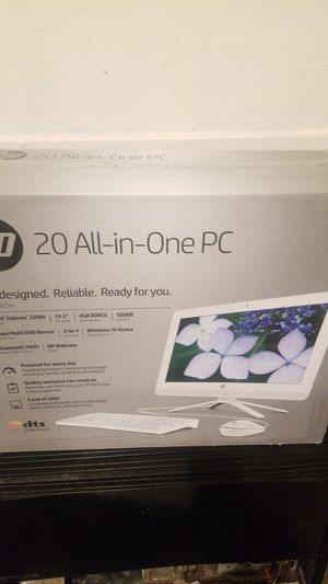 Hp all in one 20-c023 desktop computer brand new in box for Sale in San Leandro, CA