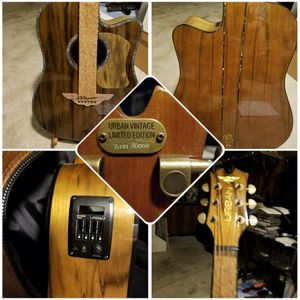Keith Urban Vintage Acoustic/Electric with Gig Bag-NEW #2181 of 8000 for Sale in Warren, MI