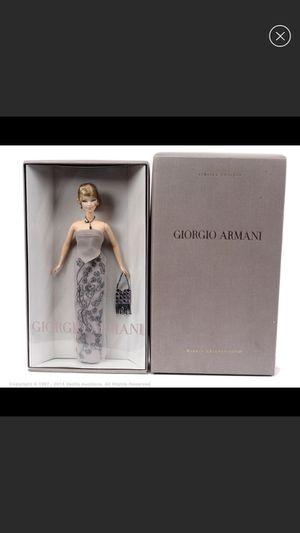 Barbie NIB Giorgio Armani doll for Sale in Laurel, MD