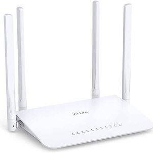 AC1200 WiFi Router Dual Band Wireless Router for Home, 4 Gigabit LAN Ports and Coverage up to 3500 sqft and 27 Devices, Supports Beamforming, Guest W for Sale in Pomona, CA