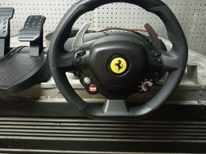 PC racing steering wheel and pedals for Sale in Warren Park, IN