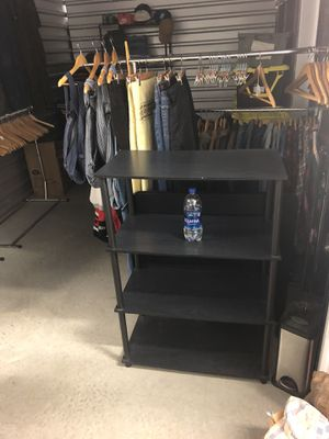 Black 4 Layer Shelf Bookshelves for Sale in Dacula, GA