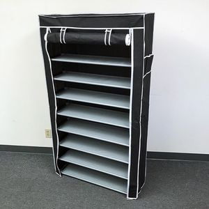 """New in box $25 each 10-Tiers 45 Shoe Rack Closet with Fabric Cover Storage Organizer Cabinet 36x12x62"""" for Sale in El Monte, CA"""