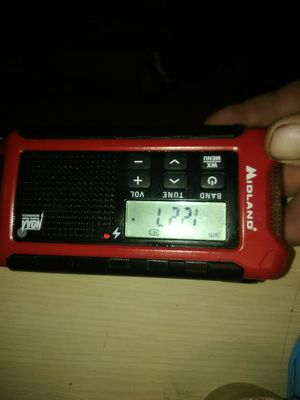 Midland NOAA ALL HAZARDS WEATHER RADIO for Sale in Tacoma, WA