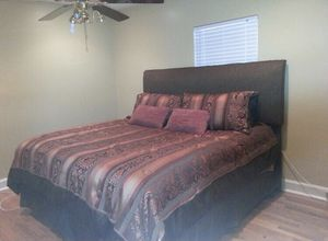 King Size Bed and Bed frame for Sale in Montgomery, AL
