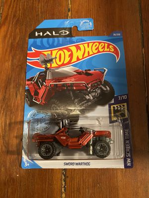 Hot wheels Halo sword warthog for Sale in Los Angeles, CA