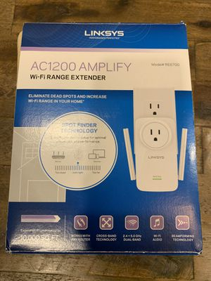 Linksys RE6700 AC1200 AMPLIFY Dual Band Wifi Extender for Sale in Pembroke Pines, FL
